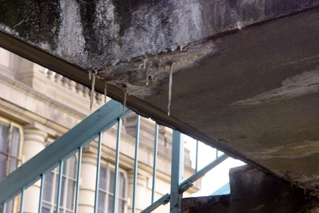 So historic it's got its own stalactites.
