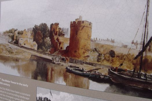 Though by the 19th Century Chester's days as a port were over as the Dee silted up.
