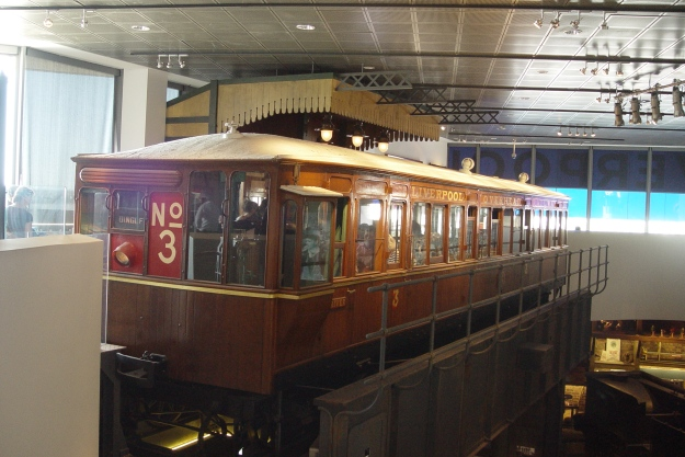 And the Liverpool Overhead Railway carriage.