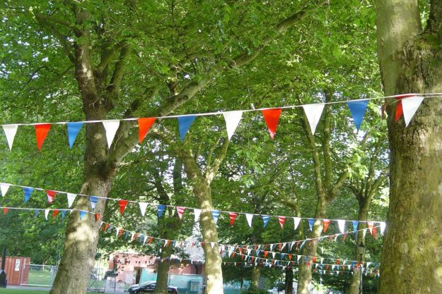 Found bunting too.