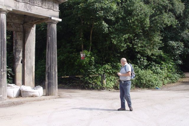 Stephen finds what's left of Allerton Manor.