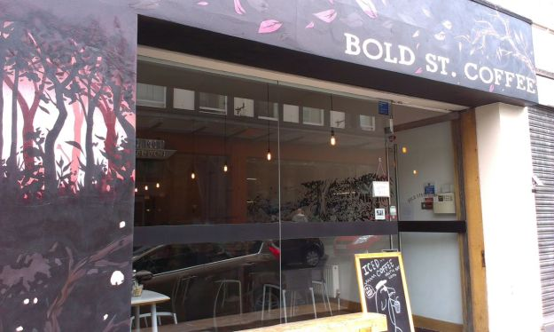 So back to Bold Street, to Bold Street Coffee.