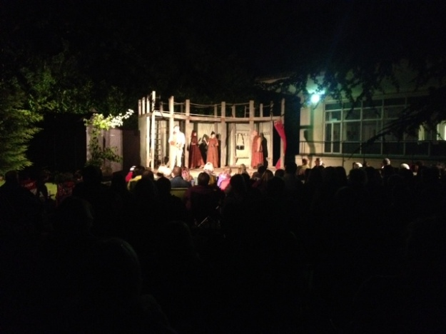 Put on by The Globe Theatre, from London.