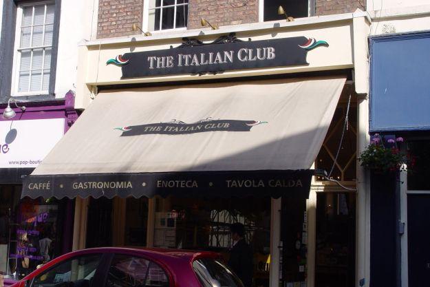 The Italian Club.