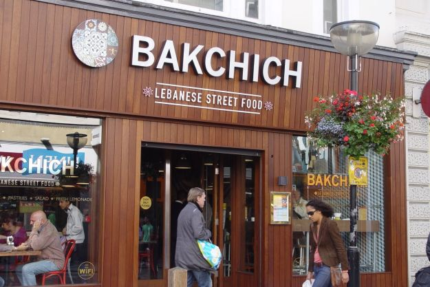 Backchich, Lebanese street food.