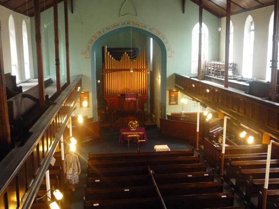 Wavertree Congregational Church.