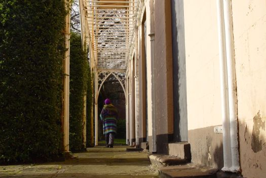 Sarah Horton, walking where Eleanor Rathbone walked.