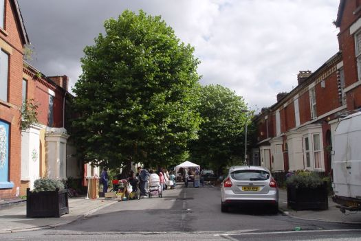 And I went to Granby 4 Streets market instead of this festival of the well-heeled.