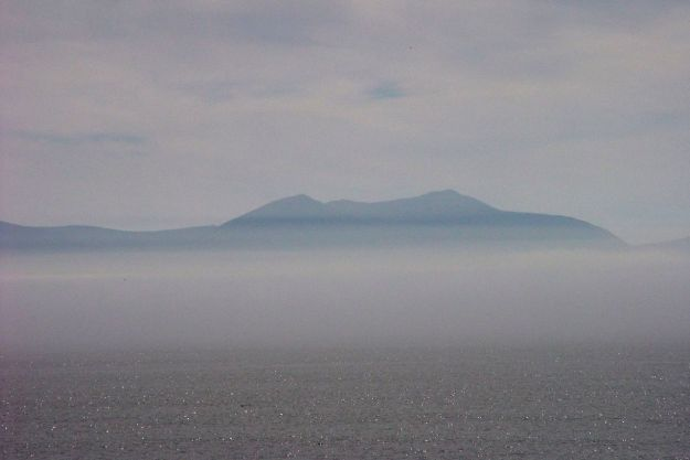 The one on the left is Yr Wyddfa, Snowdon.