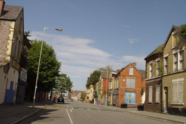 Granby Street itself.