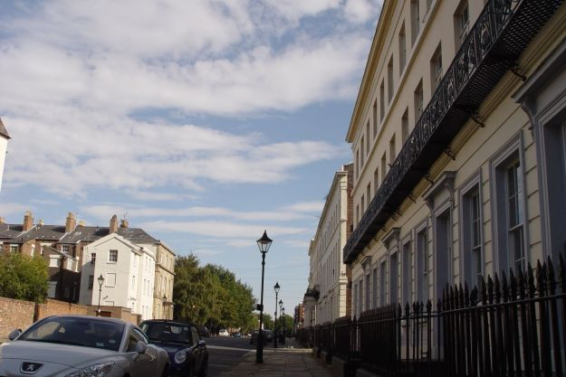 And thank even more goodness for the jaw-dropping glory that is Huskisson Street.