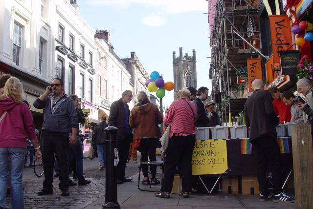 News from Nowhere's 'Bolshy Bargain Bookstall.'