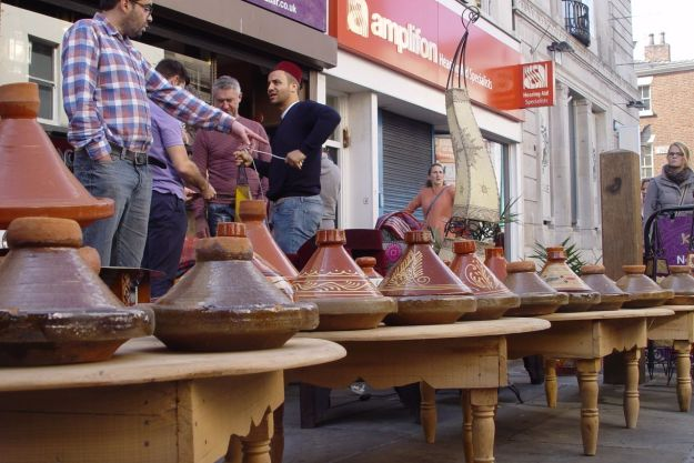 Bringing Morocco to Bold Street.