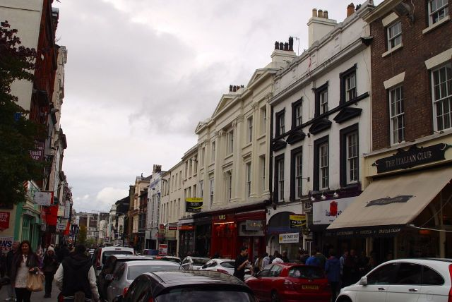 Next we took Mandy exploring around our favourite street, Bold Street.