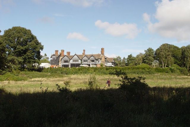 Where Mandy was particularly keen to see the ridiculous Fairy-tale wedding hotel that squats incongruously next to the common land.