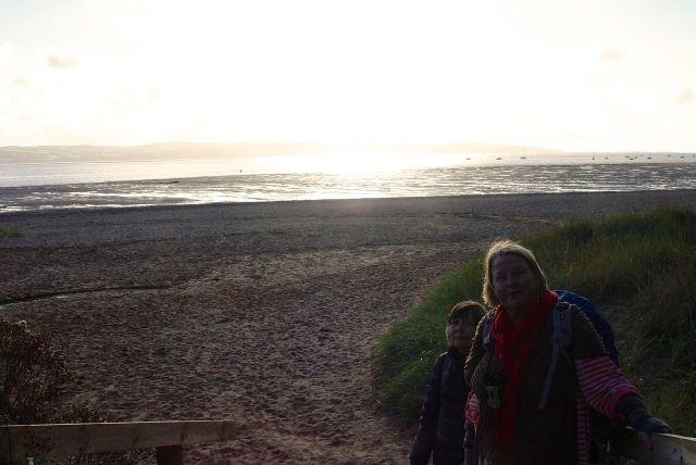 Until the sun began to set.