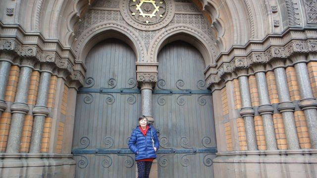 Visiting Princes Road Synagogue first.