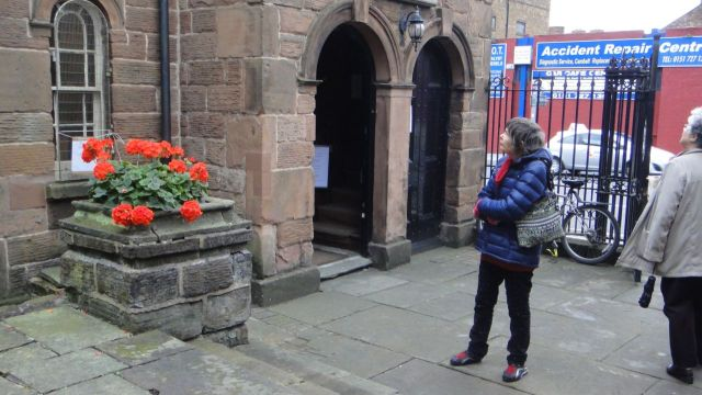 The lovely Ancient Chapel of Toxteth.