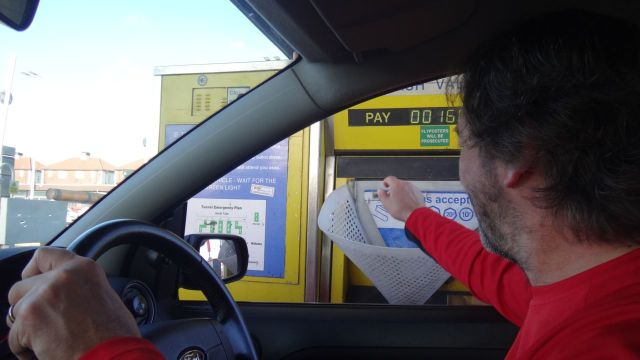 £1.60, and we'll have to pay again on the way home!