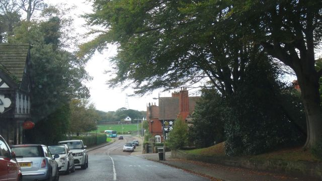 And you'll soon find yourself driving through the likes of picture perfect Thornton Hough.