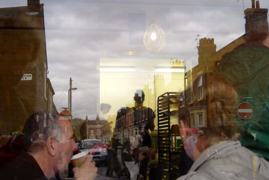 And 'Homebaked, a busy kitchen, with Anfield reflections'