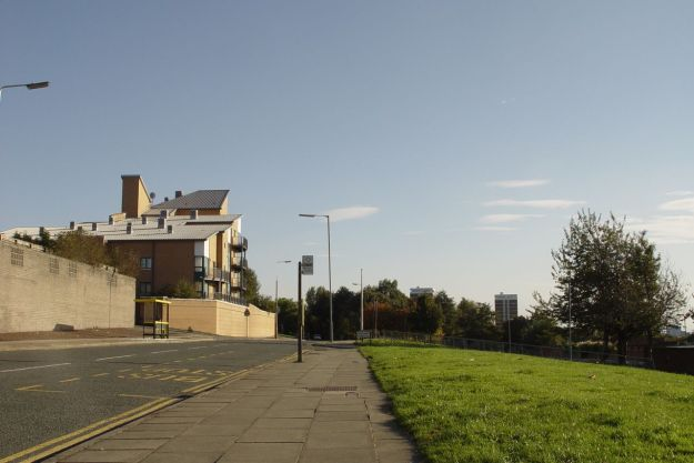 And up along Netherfield Road.