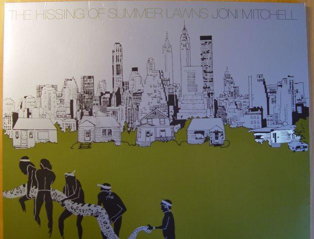 Joni Mitchell, 'The hissing of summer lawns'
