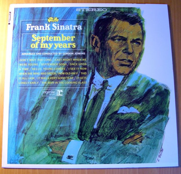Frank Sinatra, 'September of my years'. What a cover.