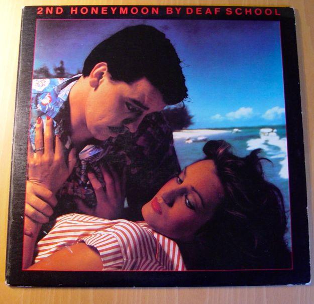As it says, '2nd honeymoon by Deaf School'