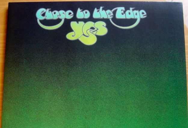 Yes, the glorious 'Close to the edge'