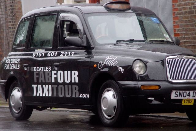 And visited into the future by Fab Four Taxi Tours.