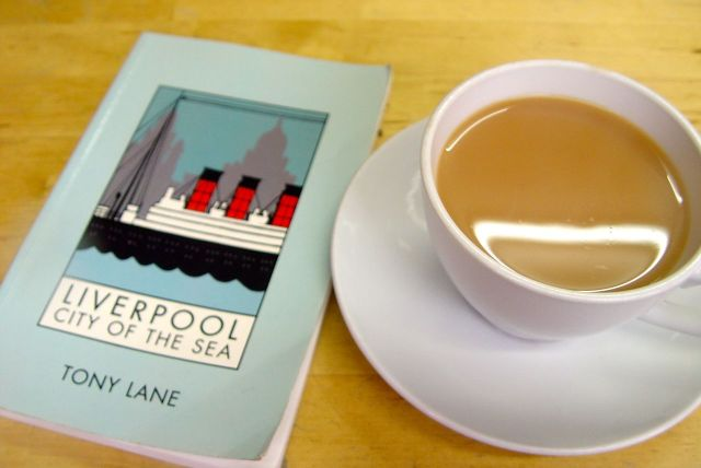 For a dry out, a cup of tea and a read of one of my favourite books.