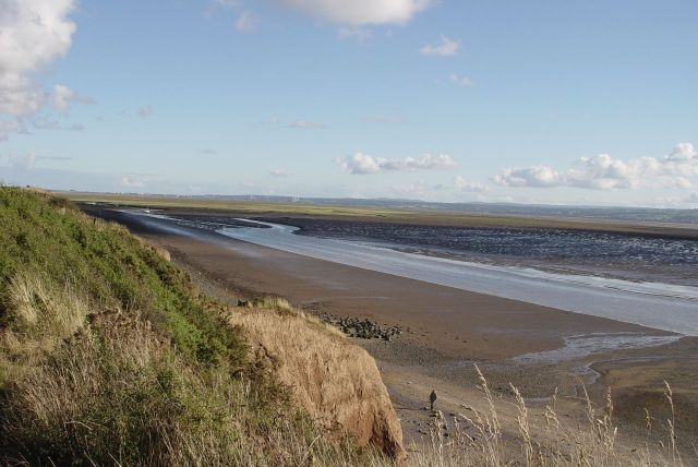 And nearby, the Shining Shore at Thurstaston.