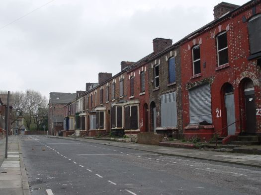 The 'move-or-stay' years have already hurt streets close to the ground.