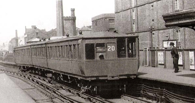 There was an Overhead station here, until it was demolished in 1957.