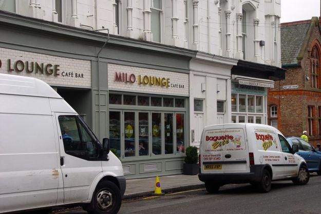 The newly opened Milo Lounge.