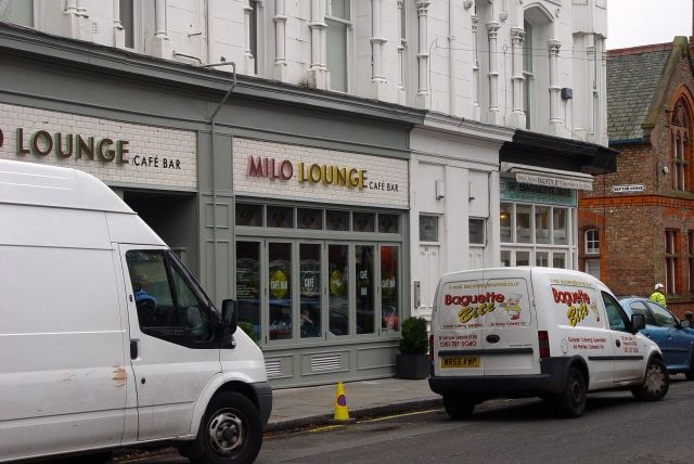 The newly opened Milo Lounge.
