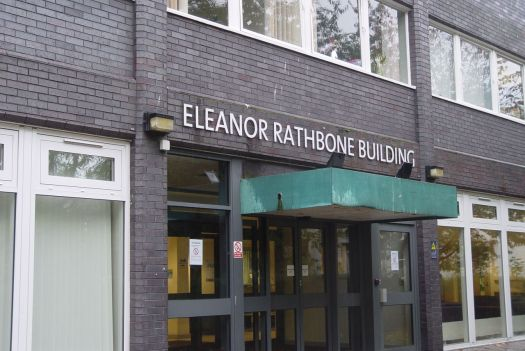 In the Eleanor Rathbone Building.