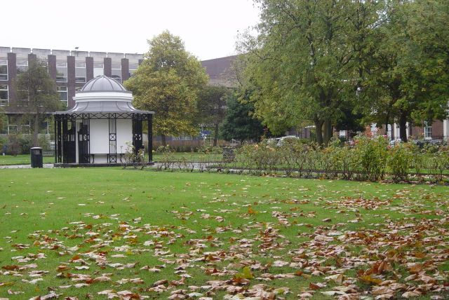 And walk along to Abercromby Square on brighter days than this one.
