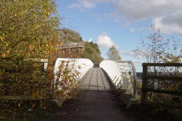 The bridge over Ditton Brook.