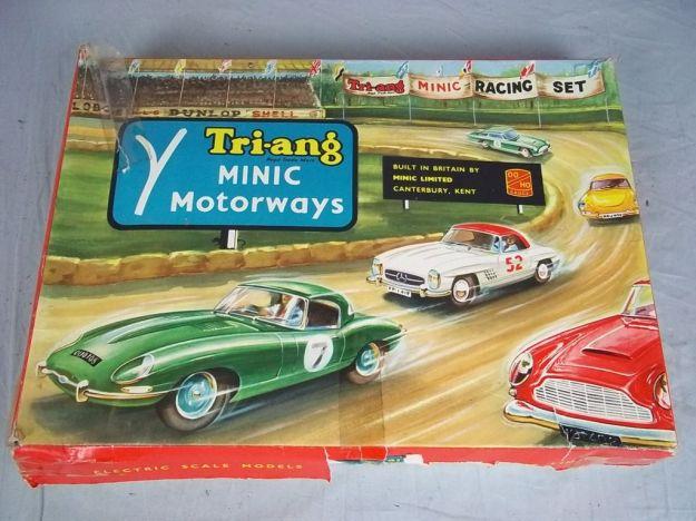 A Tri-ang Minic Motorway set.
