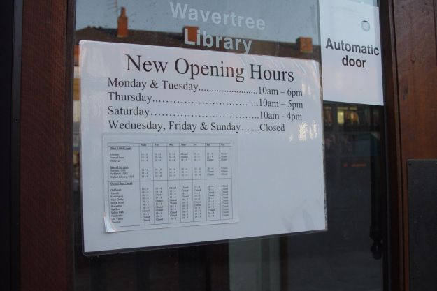 Opening hours cut down now, could get worse soon.