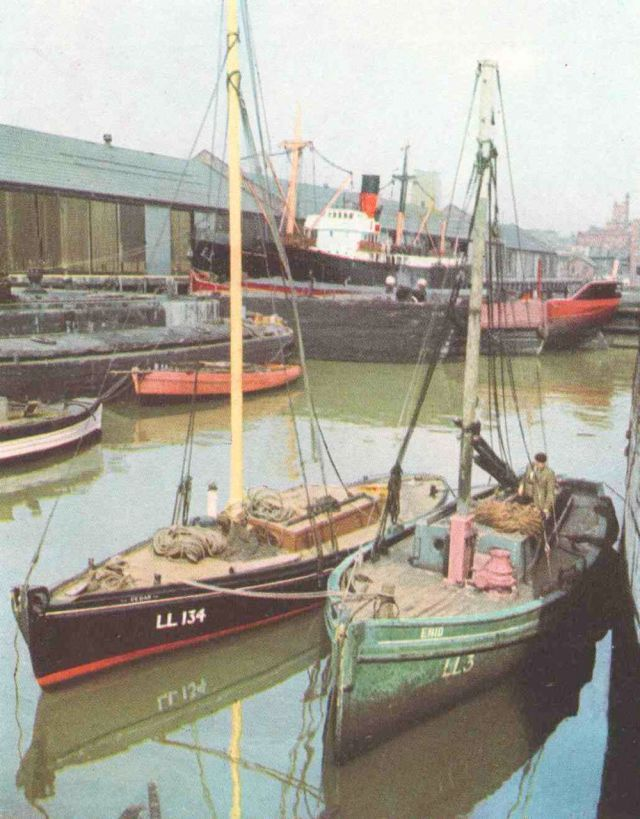 Here's how they looked in 1953. From the Liverpool City Council Yearbook.