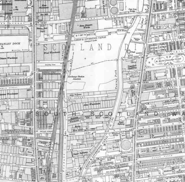 Tate & Lyle, centre-left ant the bottom of this 1906 map.