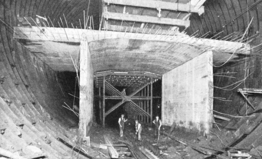 Tunnel construction