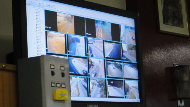 Plus the inevitable CCTV.
