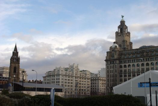 Lovely Tower Buildings, opposite the Liver Buildings.