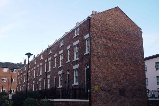 Duke's Terrace, back to back surviving 'court' housing, just off Duke Street.