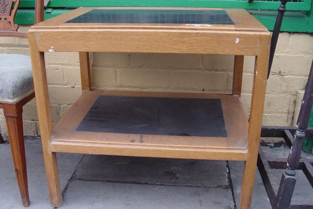 The turntable's new table, outside 'Remains to be seen'