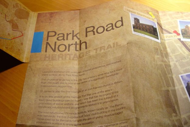 Park Road Heritage Trail.